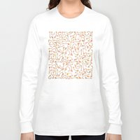 giraffes Long Sleeve T-shirts featuring Giraffes by Alison Sadler's Illustrations