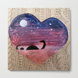 Love, Nessie Metal Print