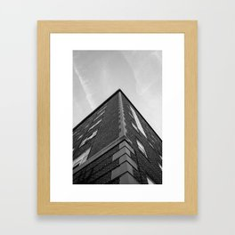 Corner Framed Art Print