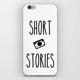 Short Stories iPhone Skin