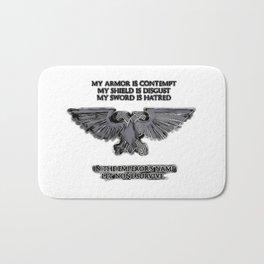 Emperors Aquila Eagle - WH40k, space marines symbol, sign, logo. Space RTS games Bath Mat