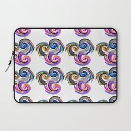 Colorful Snails Pattern Laptop Sleeve