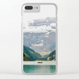 Lake Louise II Clear iPhone Case