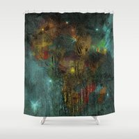 africa Shower Curtains featuring Africa by  Agostino Lo Coco