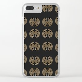 Odd order - Pattern of symmetric squeezed shapes Clear iPhone Case