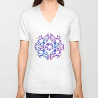 maori V-neck T-shirts featuring Maori/Polynesian Style by Lonica Photography & Poly Designs