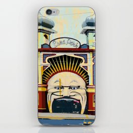 Luna Park in St.Kilda iPhone Skin