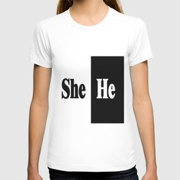 She vs He T-shirt
