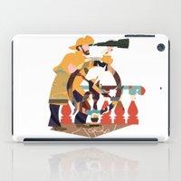 captain iPad Cases featuring Captain by Design4u Studio