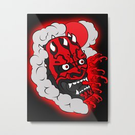 Darth Maul Metal Print