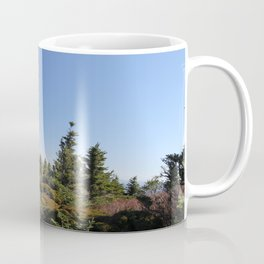 Alpine Mountain Landscape, Horizontal Coffee Mug