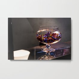 Bowl of candy Metal Print