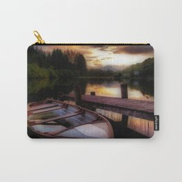 Summer Sunset Over Loch Ard Carry-All Pouch