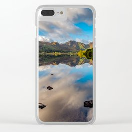 Lake Crafnant Snowdonia Clear iPhone Case
