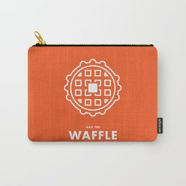 Hail the Waffle Carry-All Pouch