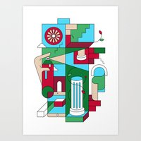 Withering Art Print
