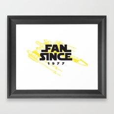 Original Fan Framed Art Print