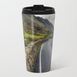 Llanberis Pass Winding Road Travel Mug