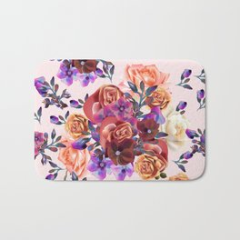 Rose garden Bath Mat