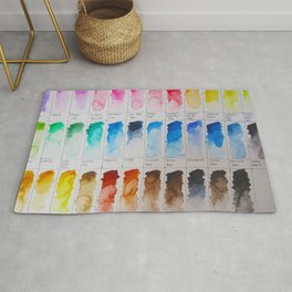 Watercolor Swatches Rug