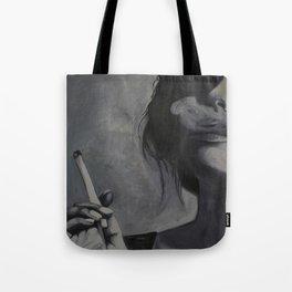 Smoking Girl Tote Bag