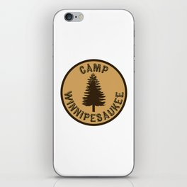 camp winnipesaukee shirt iPhone Skin