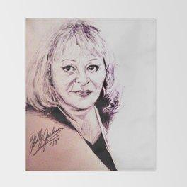 Sylvia Browne Throw Blanket