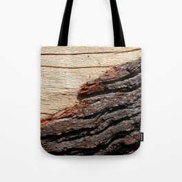 Wood Duo Tote Bag