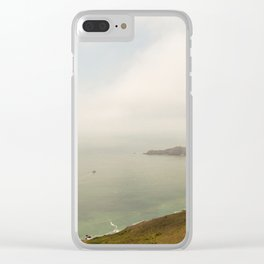 Coastal Drive Clear iPhone Case