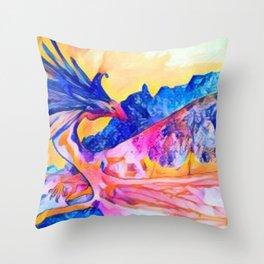 dragon benefico Throw Pillow