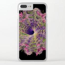 Magic Swirl Clear iPhone Case