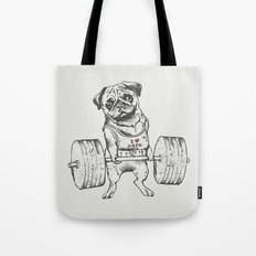 Pug Lift Tote Bag