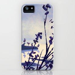 Foggy Log iPhone Case