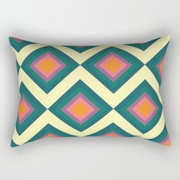 Retro Pattern VII Rectangular Pillow