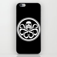 hydra iPhone & iPod Skins featuring Hydra Trooper by Don Calamari
