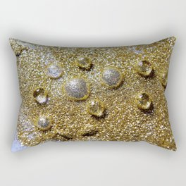 Liquid Gold Rectangular Pillow