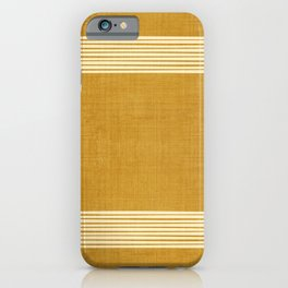 Band in Gold iPhone Case