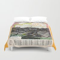 arizona Duvet Covers featuring Arizona by Ursula Rodgers