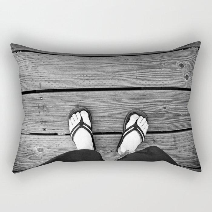 The Path I Walk Rectangular Pillow