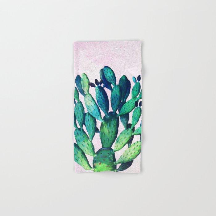 Cactus Three Ways #society6 #decor #buyart Hand & Bath Towel