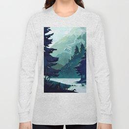 Canadian Mountain Long Sleeve T-shirt