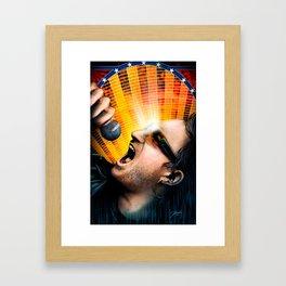 Bono from U2 Framed Art Print