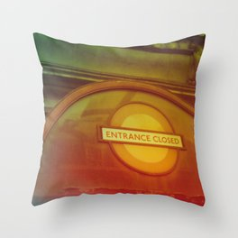 London - Tottenham Court Road Throw Pillow