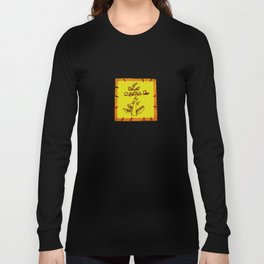 tree with a computer , telephone and other device . https://society6.com/vickonskey/s?q=popular+prin Long Sleeve T-shirt