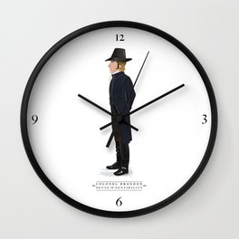 Colonel Brandon Wall Clock