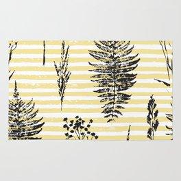 Botanicals & Stripes Rug