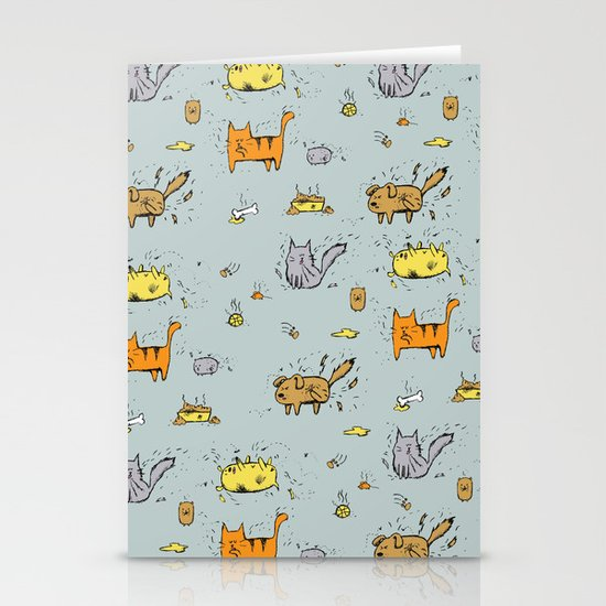 Dirty Animals Stationery Cards