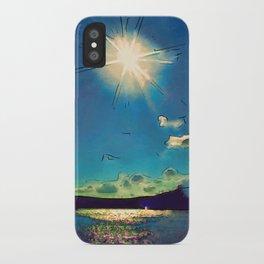 Sunshine at the Black Sea iPhone Case