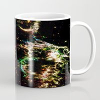 cosmic Mugs featuring Cosmic by 2sweet4words Designs