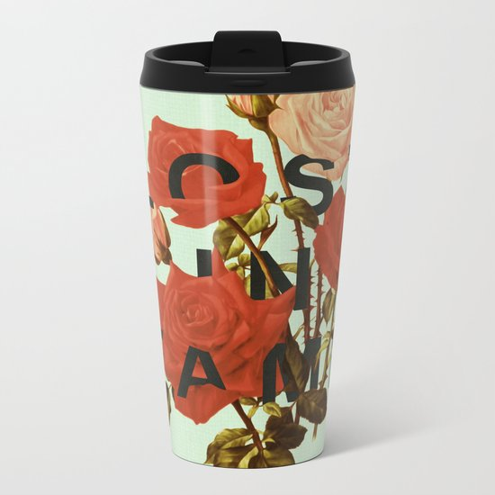 Lost In Fame Metal Travel Mug